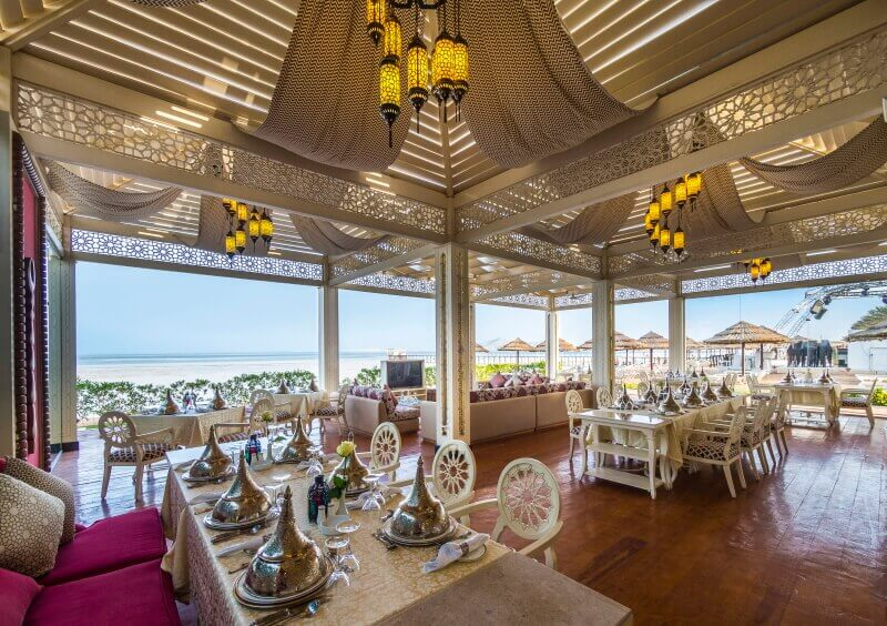 Ресторан в отеле Rixos Sharm El Sheikh