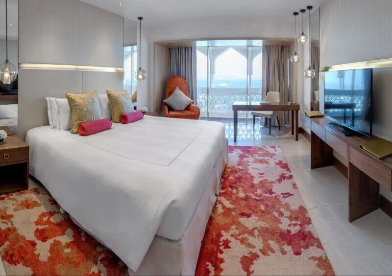 Спальня в отеле Тадж-Махал Тауэр Мумбаи