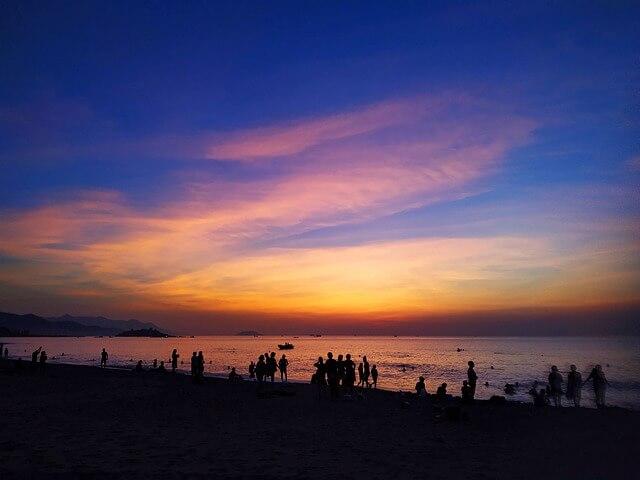 Туристы во Вьетнаме