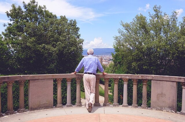 Мужчина в Италии