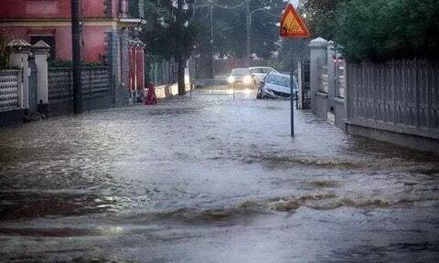 Наводнение в Генуе