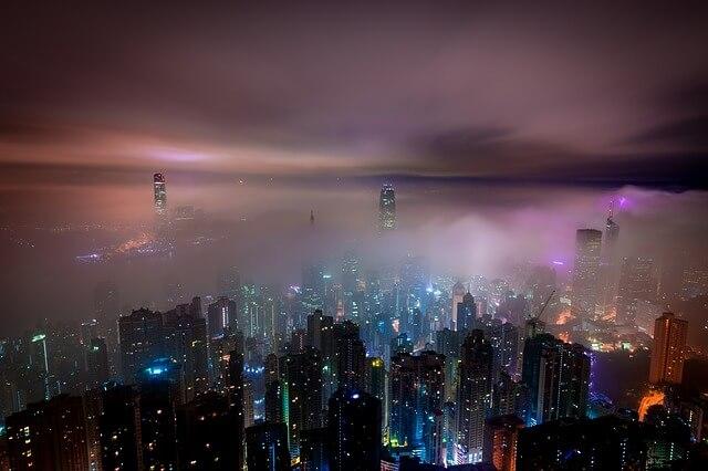 Гонконг популярный город у туристов