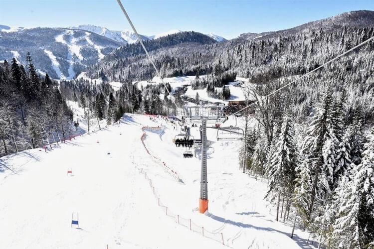 Колашин, горнолыжный курорт Черногории