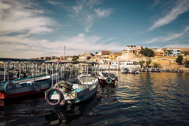 Порт в Египте