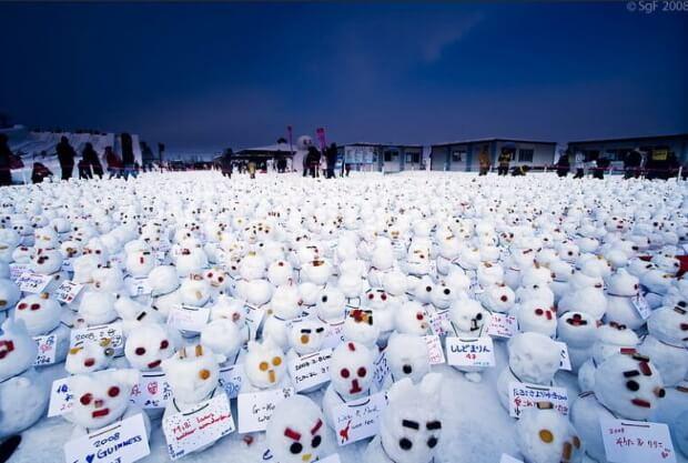 Снеговики в Харбине