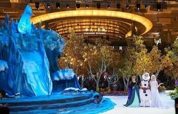 Сингапурский аэропорт открывает сказочную «Снежную страну чудес»