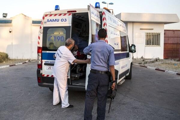 В Тунисе разбился автобус с туристами