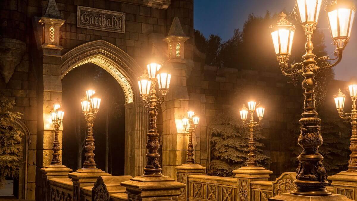 Вход в замок-Гарибальди