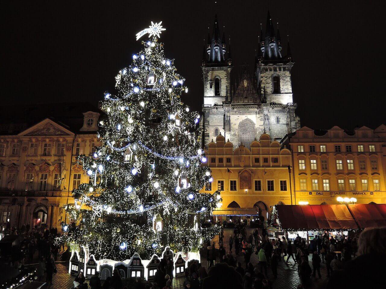 Волшебство Рождественской Праги