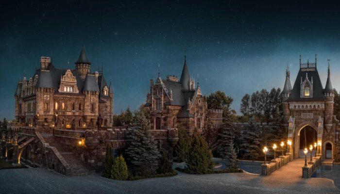 Замок Гарибальди в Самарской области — современное воспроизведение Средневеков