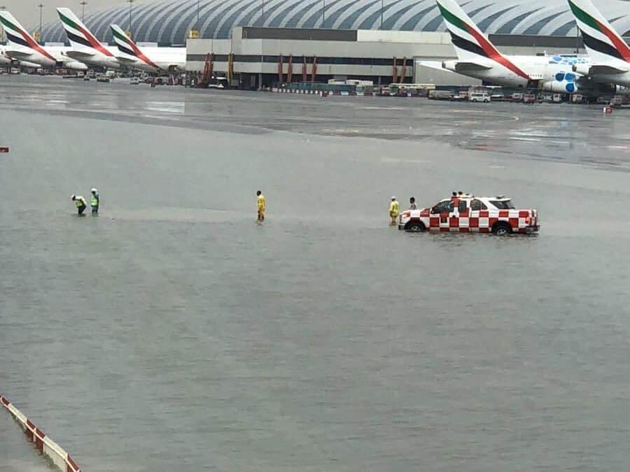 Дубаи затопило