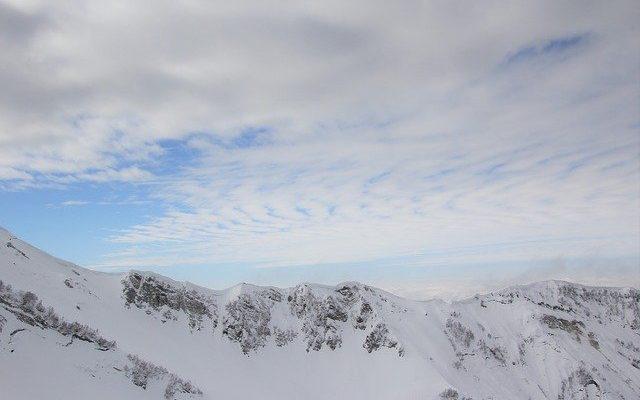 На горнолыжных курортах Сочи наконец-то начались снегопады