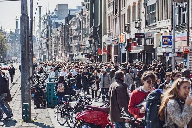 Туристы в Нидерландах