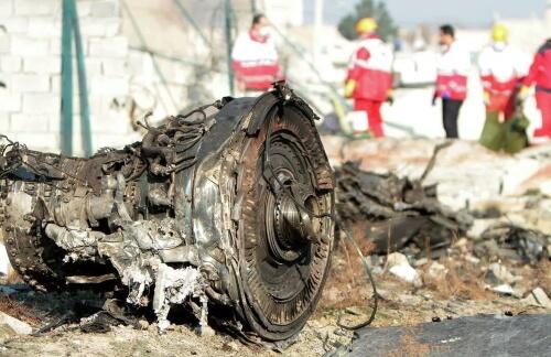 В Иране разбился пассажирский самолет
