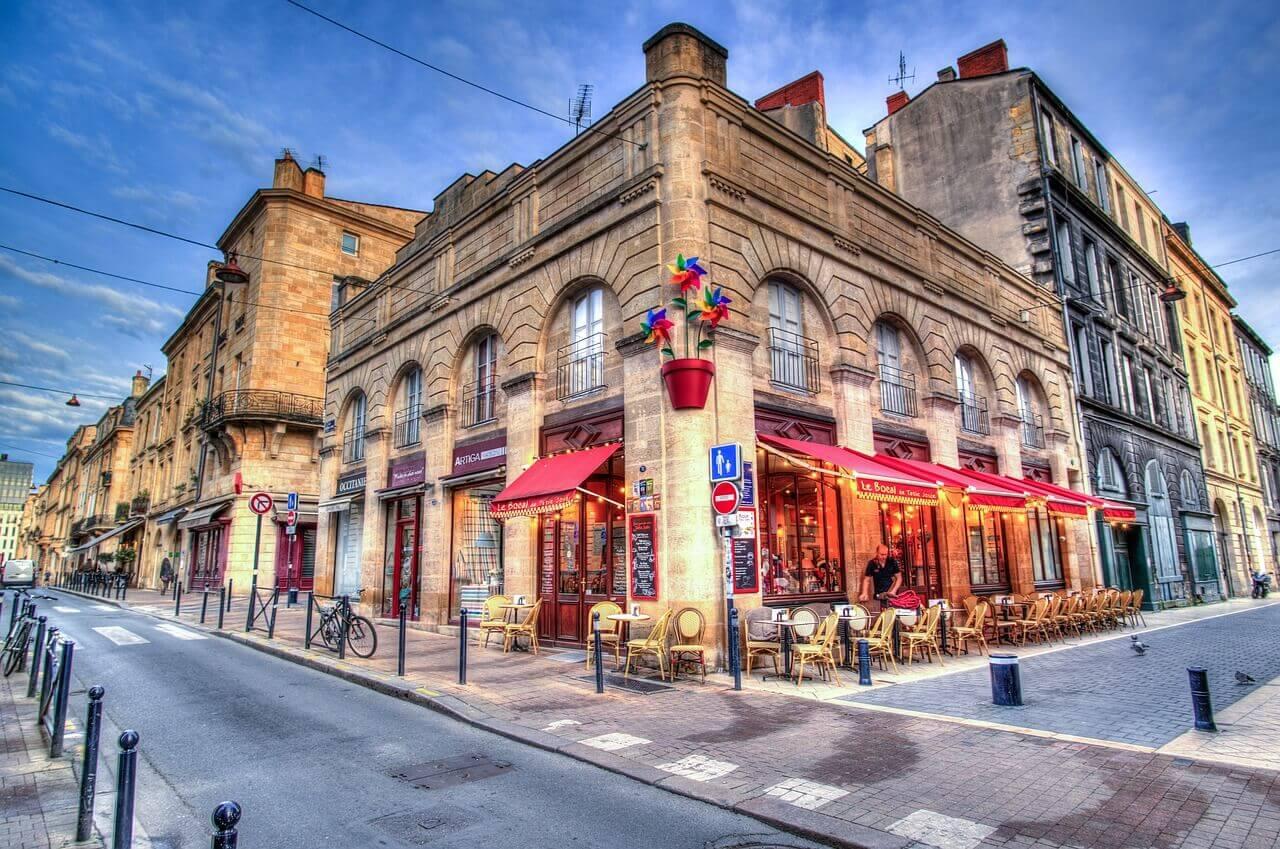 Кафе во Франции