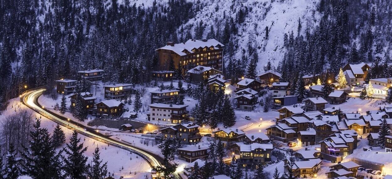 Куршевель - горнолыжный курорт Франции