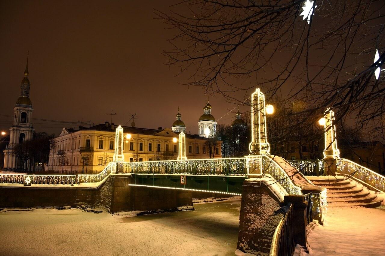Мост в Сантк-Петербурге