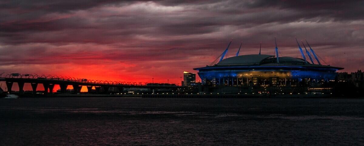 Романтичные места Санкт-Петербурга