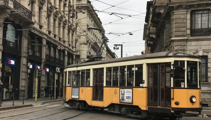 В Милане трамвай сбил иностранку насмерть