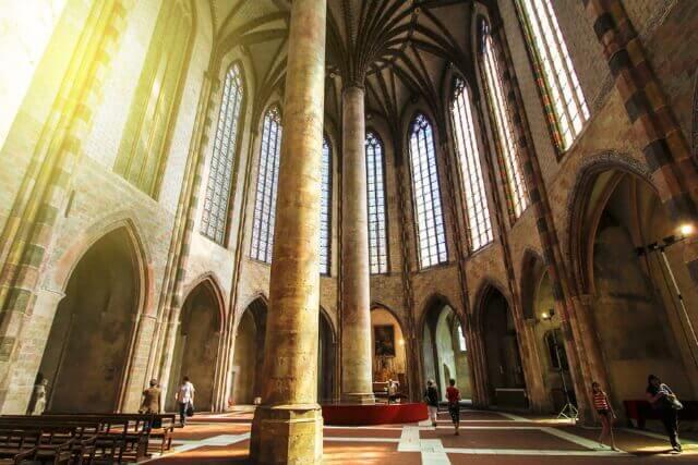 Монастырь якобинцев в Тулузе