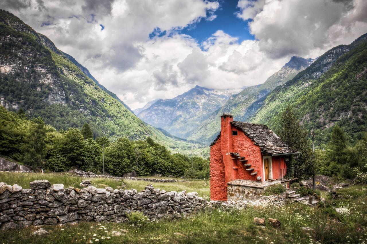 природа Швейцария