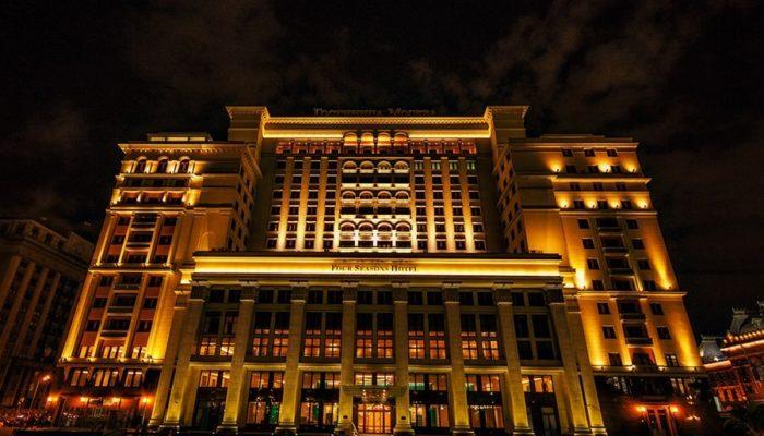 Отели в Москве для романтического уик-энда