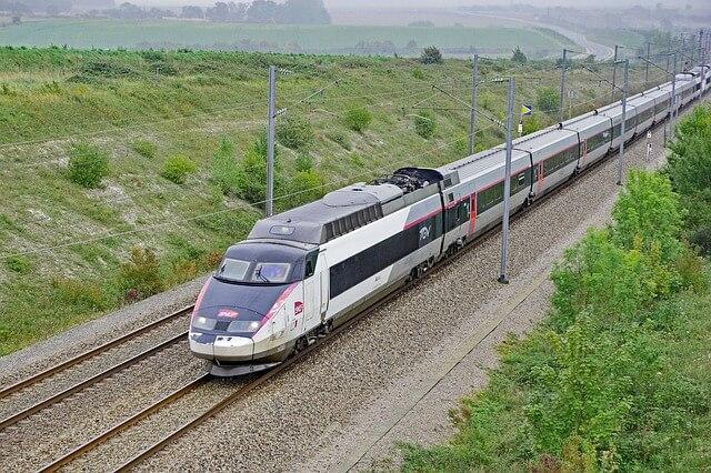 tgv поезд Франция