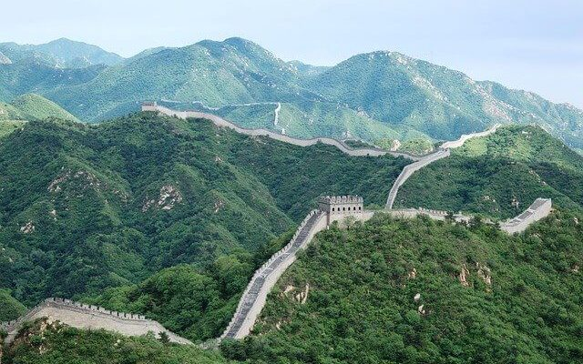 Китай успешно открыл Великую Китайскую стену