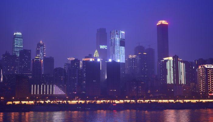 Горизонтальный небоскреб появился в одном из городов Китая