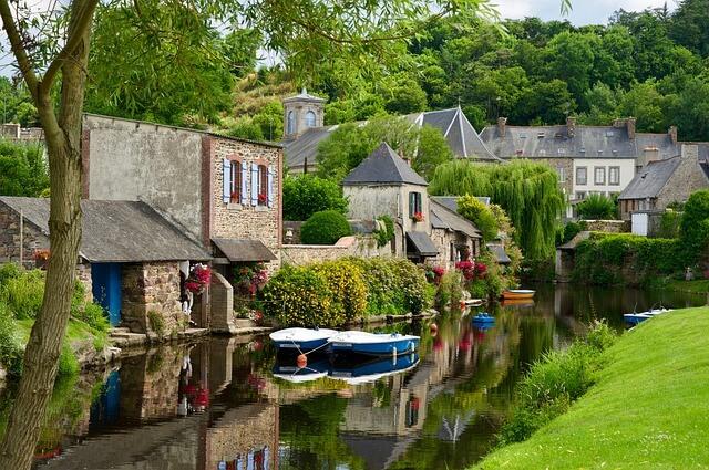 Франция деревня