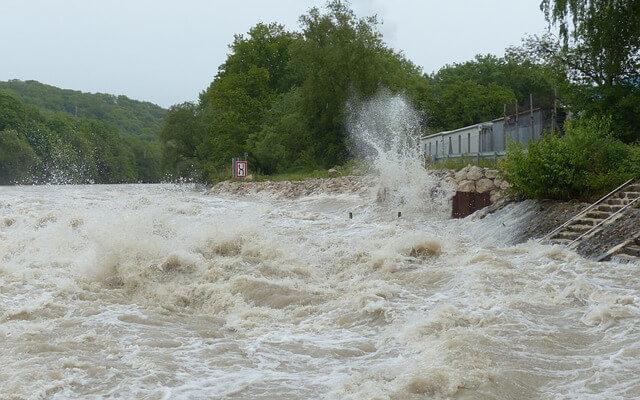 На Японию обрушились сильные наводнения