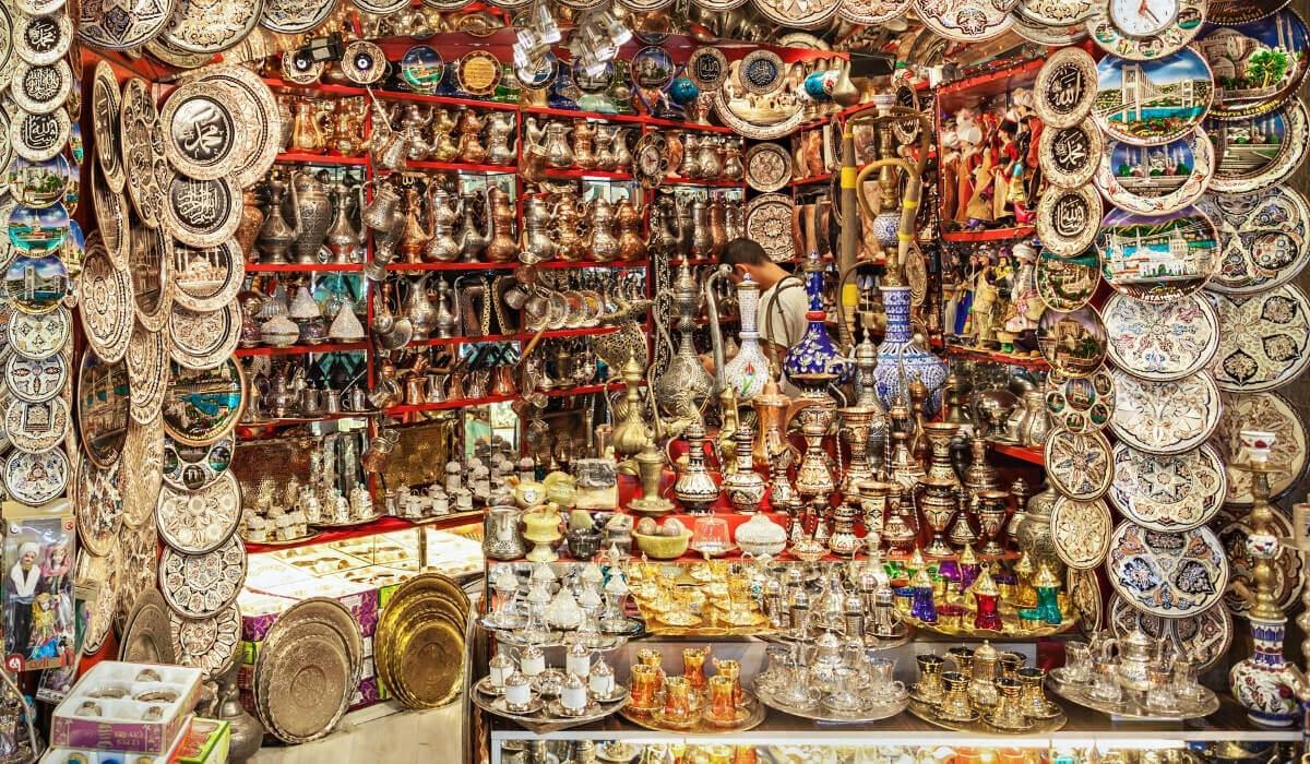 Гранд-Базар в Турции