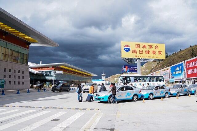 Китай аэропорт