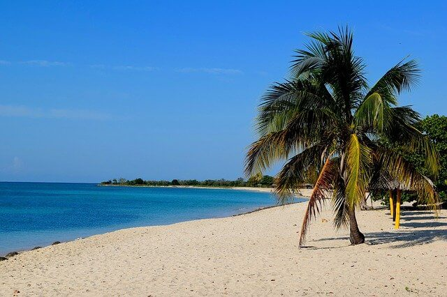 Куба пляж