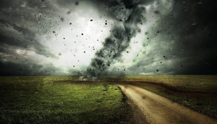 На американскую Луизиану обрушился ураган «Зета»