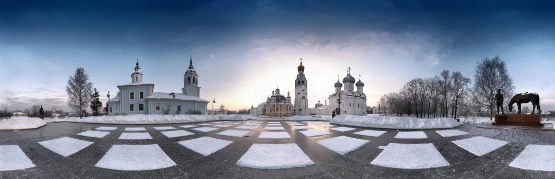 Кремлевская площадь в Вологде / © Alexey Yuzhakov / ru.wikipedia.org