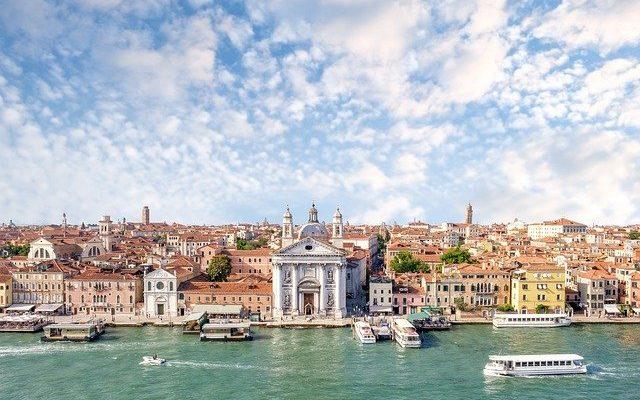 В Венеции обмелели водные каналы