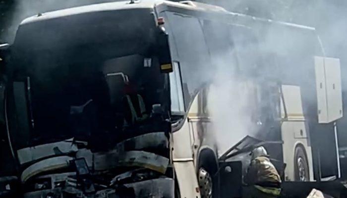 В Краснодарском крае столкнулись два автобуса с детьми