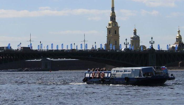 В Санкт-Петербурге уже скоро откроется кольцевой маршрут по рекам и каналам