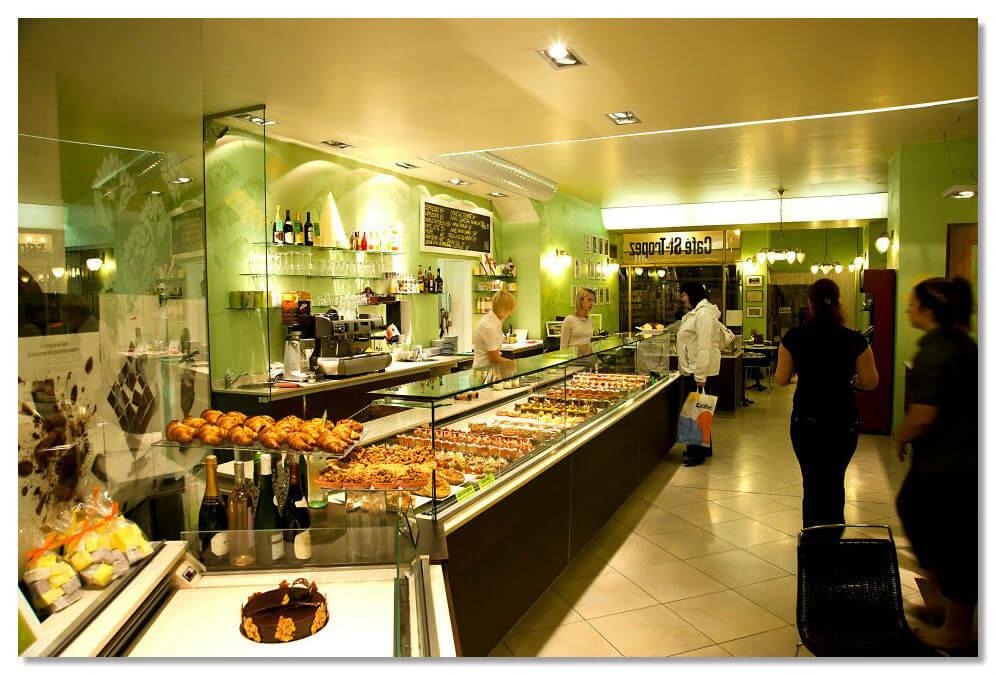 Кафе-кондитерская Saint Tropez в Чехии