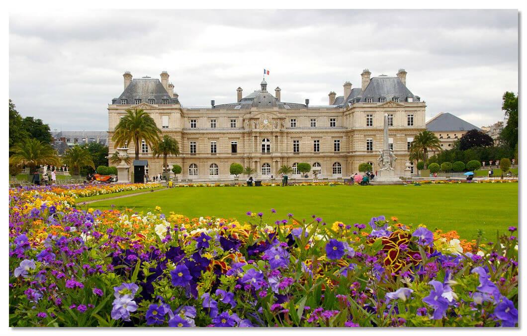 Люксембургский сад в Париже (Luxembourg Gardens)