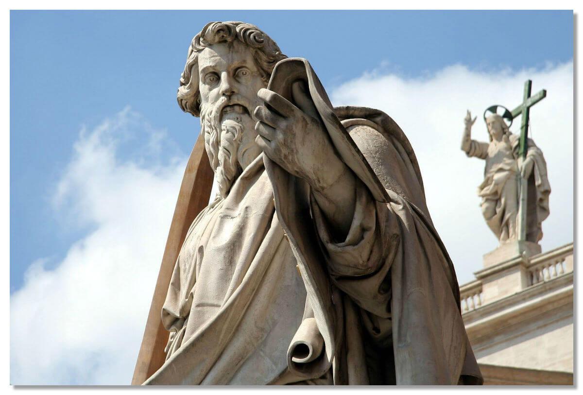 Статуя Павла