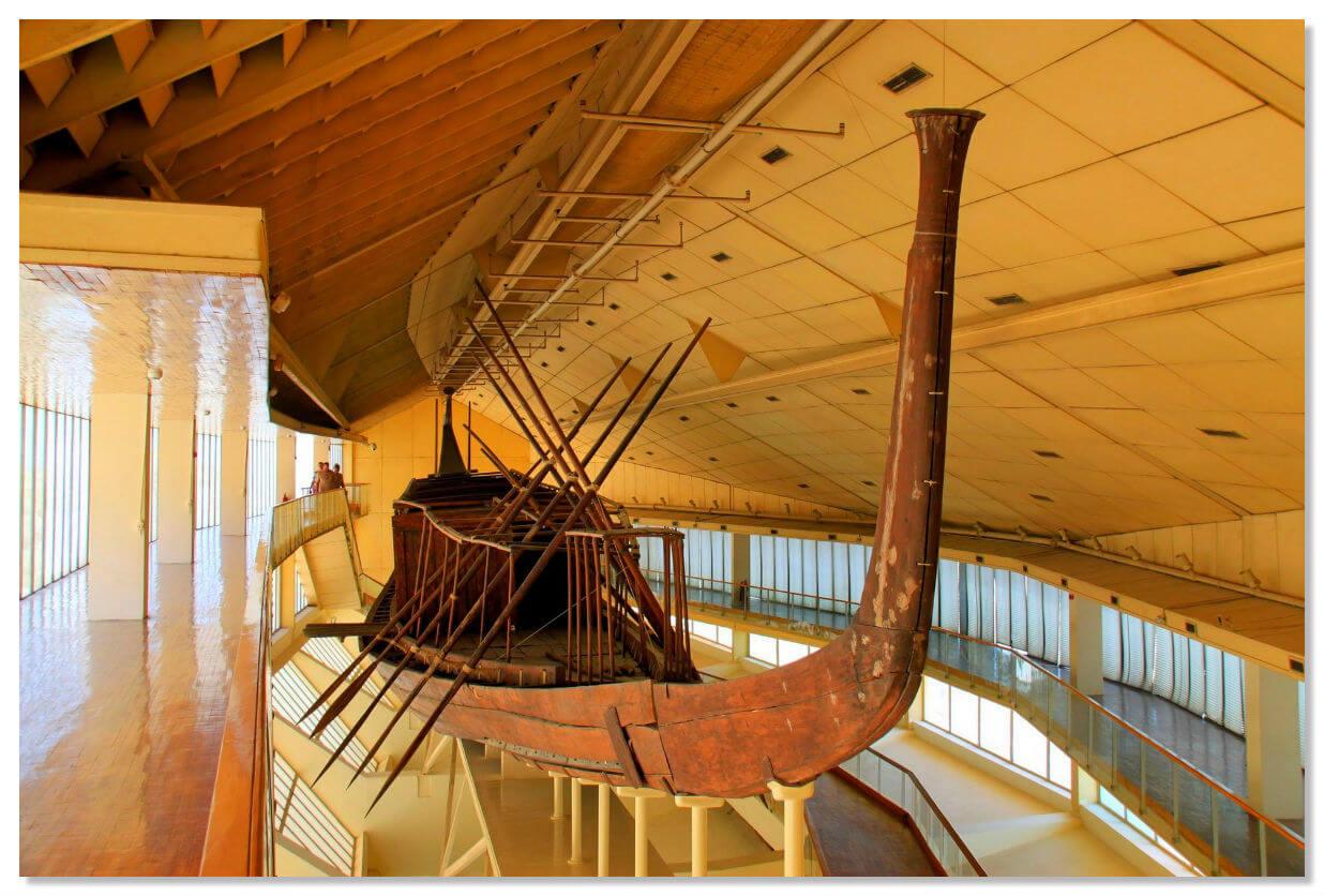 Музей Солнечной ладьи, Гиза