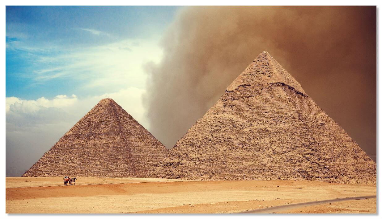 Свое название она получила по имени ее создателя - фараона Хеопса