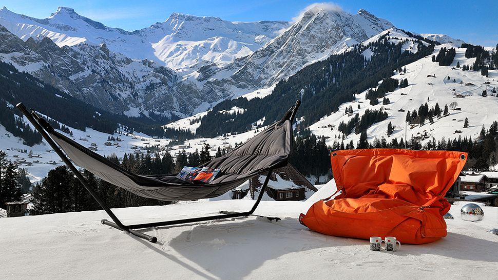 Отель Cambrian с панорамным видом на Швейцарские Альпы