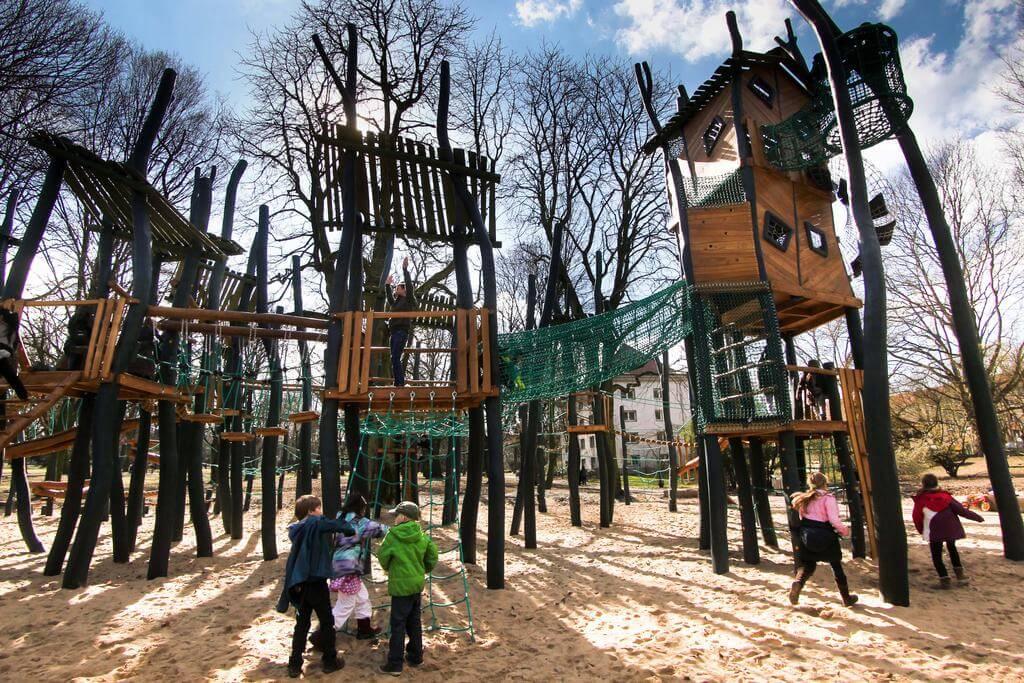Детская площадка в Германии
