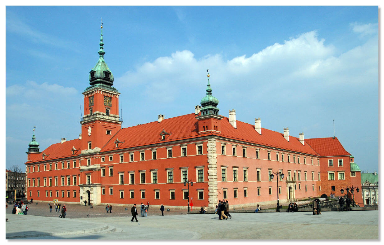 Королевский дворец, достопримечательности Варшавы