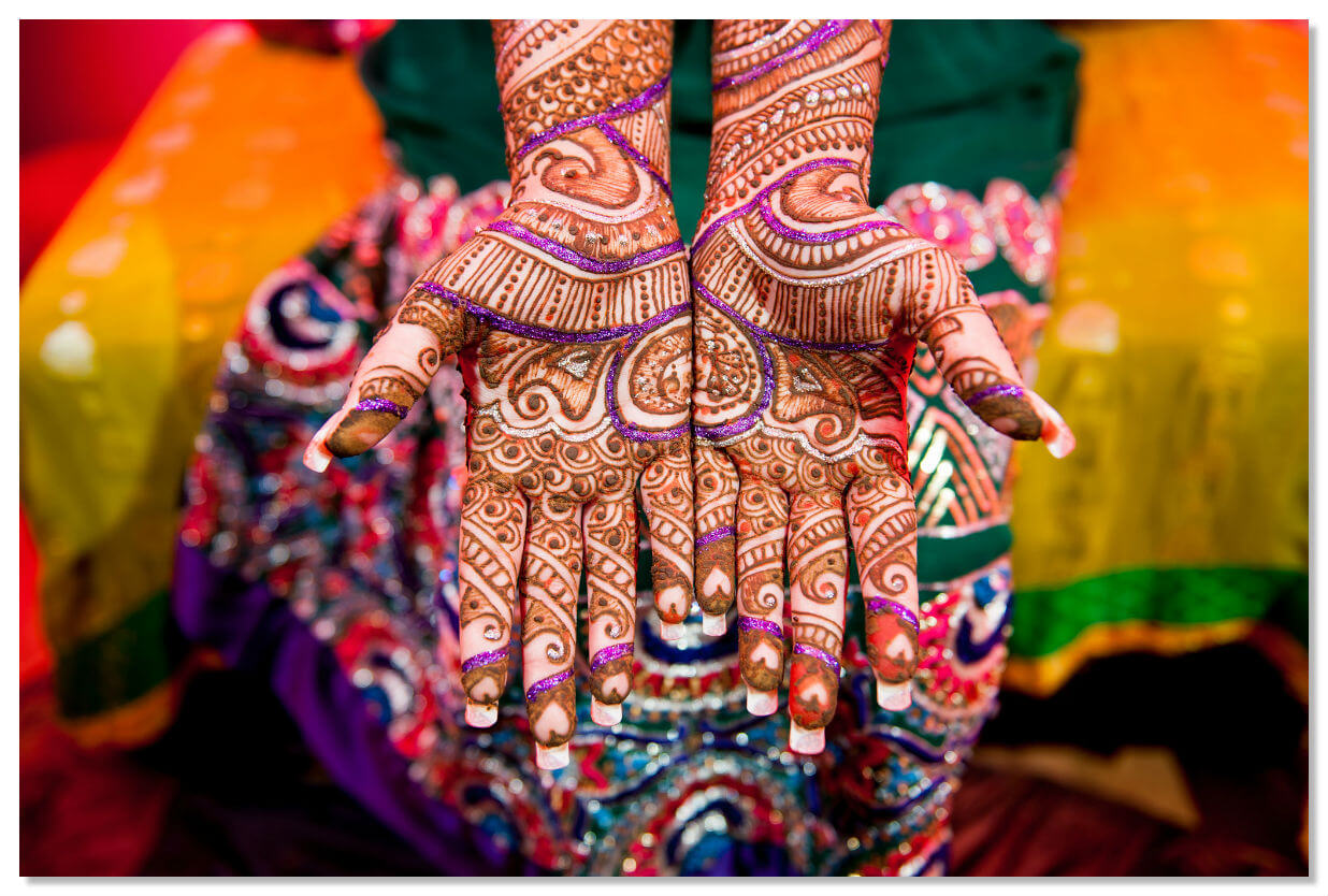 Мехенди в Индии