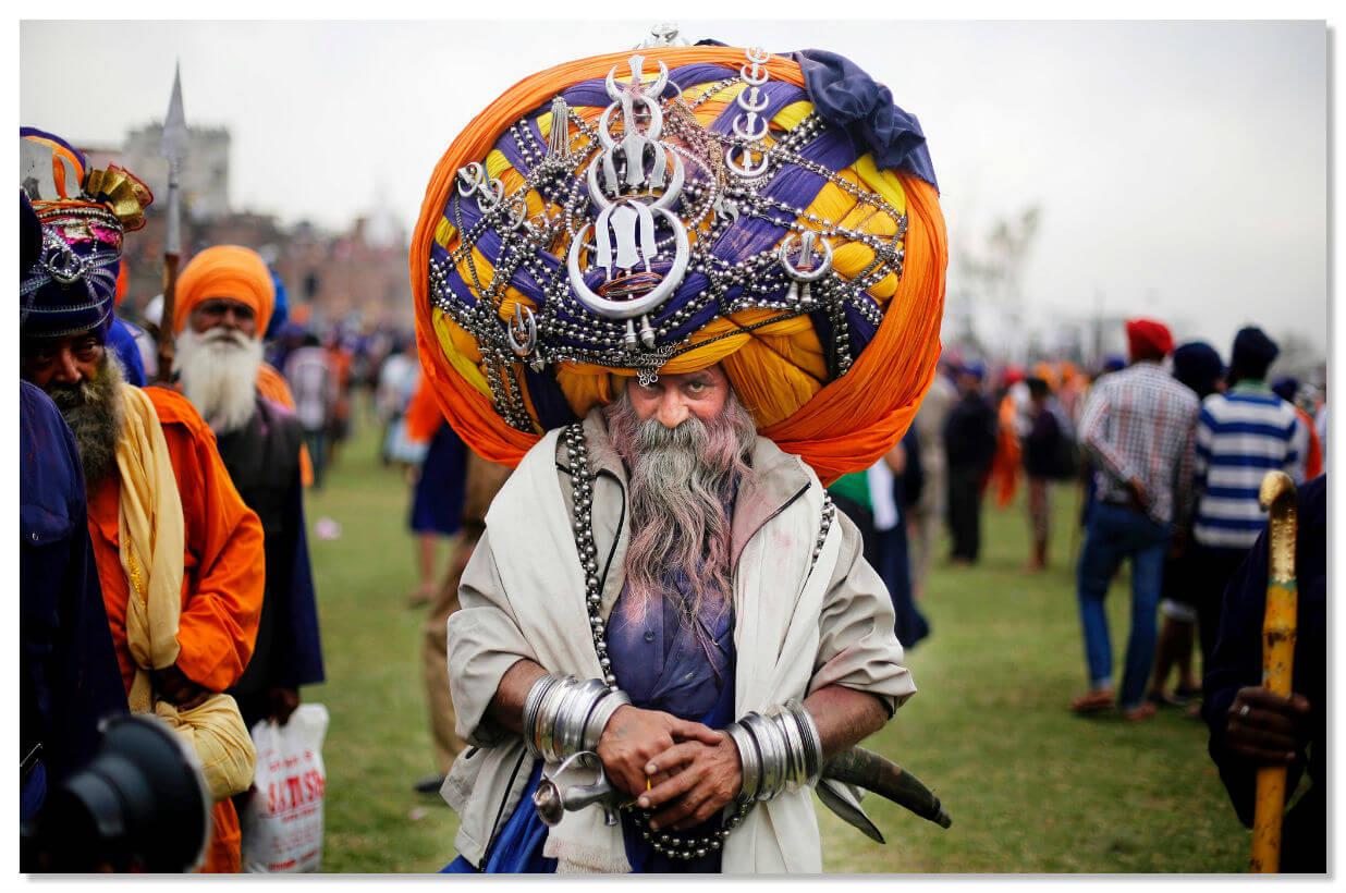 Сикхизм - одна из национальных религий Индии.