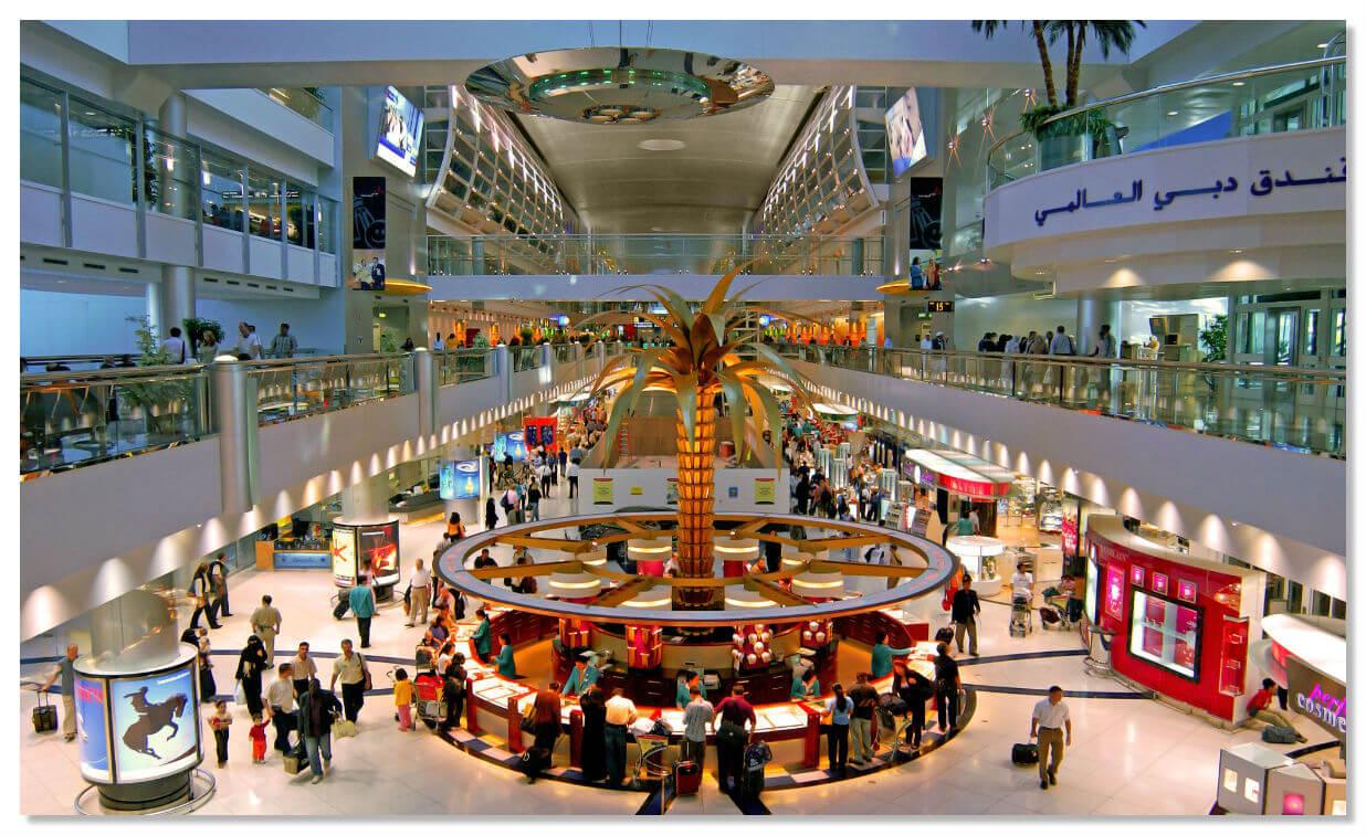 Аэропорту Дубай обогнал Хитроу по загруженности в мире